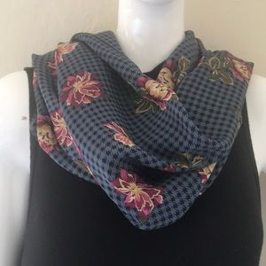 Vintage Echo Scarf Face Mask Silk 34x34 inches